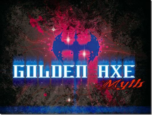 Golden Axe Myth titolo