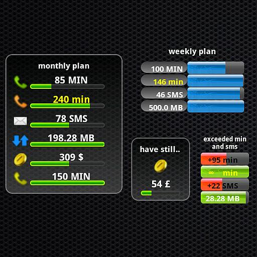 計劃監視器窗口小部件 工具 App LOGO-APP試玩