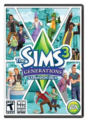 Capa The Sims 3 Gerações