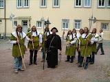 Lebende Stadtbilder präsentierten sich zum Stadtfest - Gäste aus der Partnerstadt Plettenberg waren auch dabei
