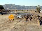 Flooded in Ocotillo - Anza Borrego Desert State Park