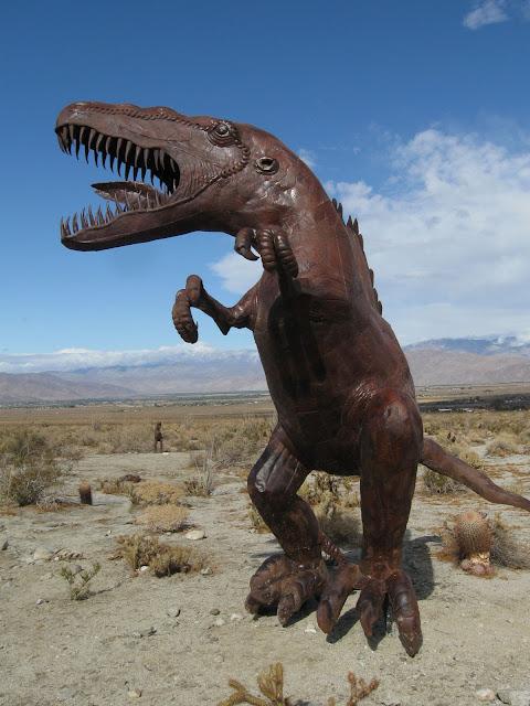 Large Raptor - Anza Borrego Creature Desert