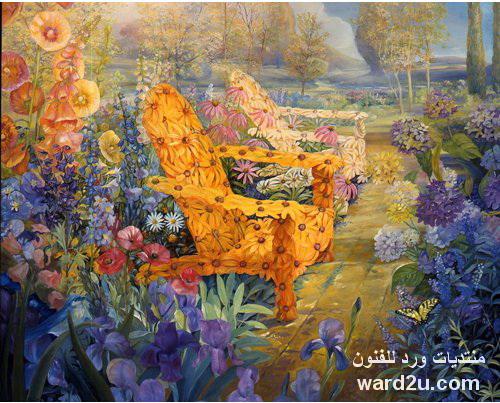 صالونات ورد للفنون من باقات الزهور