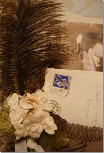 Sepia letter