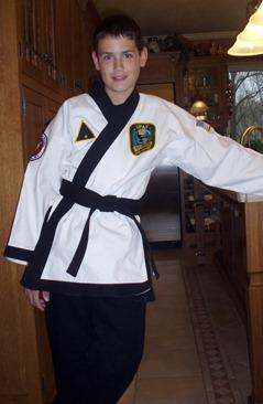 Black Belt Elisha April 2012