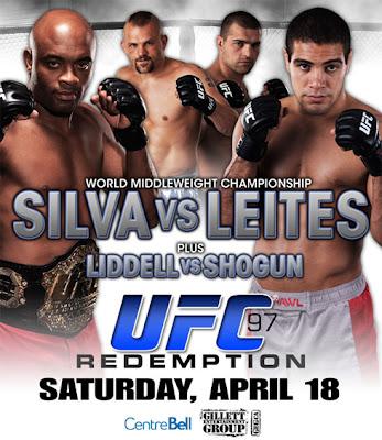 UFC 97: Андерсон Силва (Anderson Silva) VS Талес Лейтес (Thales Leites)