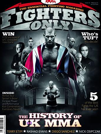 Кадр дня: Свежий номер журнала Fighters Only