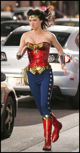 New NEW Wonder Woman Costume