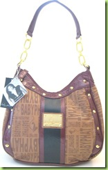 NEW! BABY PHAT HOBO HANDBAG PURSE, BROWN, NWT
