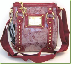 NEW! BABY PHAT CROSS BODY HANDBAG PURSE, RED, NWT
