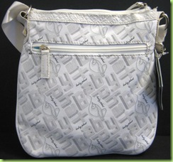 NEW! BABY PHAT CROSS BODY HANDBAG PURSE, WHITE, NWT2