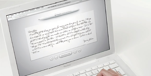Pilot handwriting-Write by hand on computer