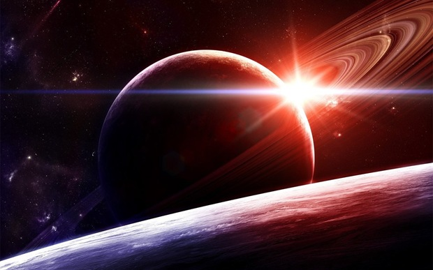 Widescreen space wallpapers