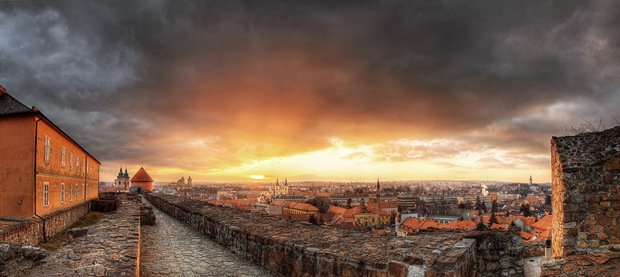 HDR urban cityscape photography