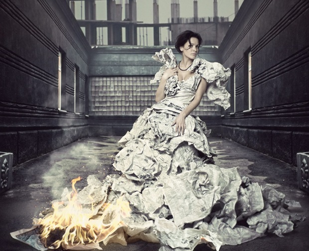 Girl on Fire-Surreal-image-manipulation