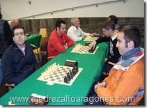 Jesús García (3º clasificado) contra Pablo Maza (2º).