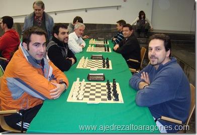 La partida Maza-Fontana que decidió el liderato del torneo en solitario a favor del segundo jugador