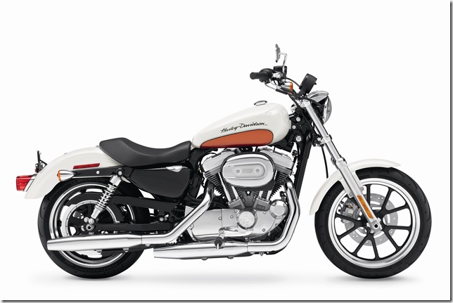 2011, Sportster, XL883L, SuperLow, right broadside