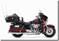 2010, FLHTCUSE, CVO Touring, right broadside, DIB