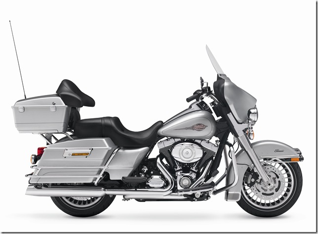 2011, Touring, FLHTC, Electra Glide Classic, INTERNATIONAL ONLY, right broadside