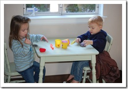 playing with playdough 018