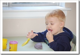 playing with playdough 021