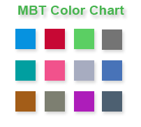 Embeddable css color chart