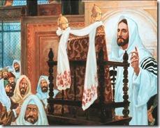 Jézus a szószéken