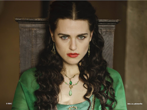 Katie McGrath is Morgana