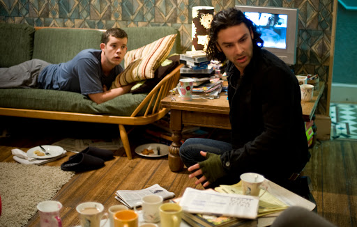 Aidan Turner is Mitchell and Russell Tovey is George - Being Human
