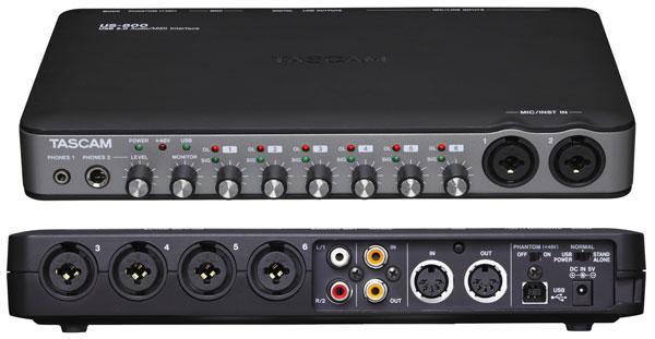 Tascam US-800 USB 2.0 audio interfész