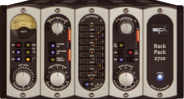 SPL RackPack 4, de-esser modul és DrumXchanger dob csere plugin