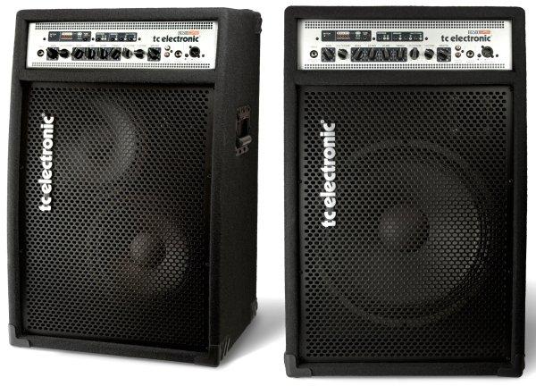 TC Electronic BG500 115 és BG500 210 basszus kombók