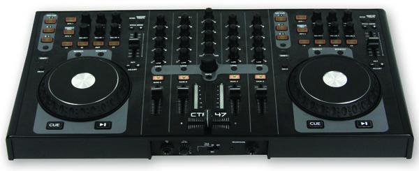 Gemini CTRL-47 4 deck DJ MIDI kontroller