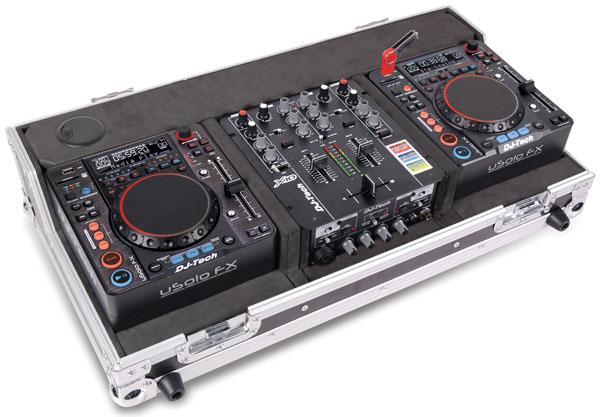 DJ Tech Hybrid X1 - uSolo FX és X10 mixer kombó