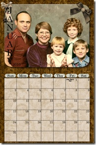 Hall Calendar - January web