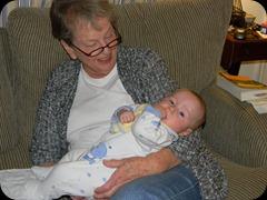 Grandma Esther & Dean 2-2-11