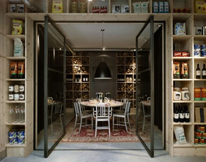 mazzo restaurant amsterdam interior design contemporary wood