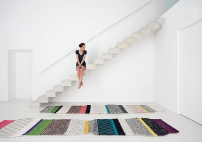 cool area rug urquiola spanish colorful design decor poufs trend