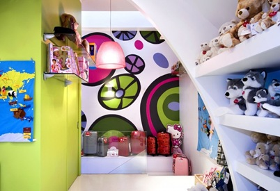 barcelona toy store design interior decor kids fun