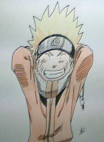 Naruto, Fan Art por Dolores Hernández