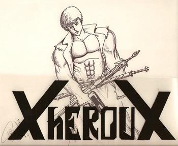 Xheroux, dibujo de Luis Miguel T.G.