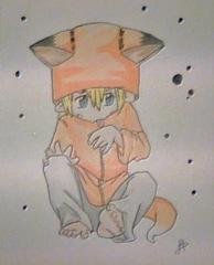 Naruto versión chibi por Dolores Hernández