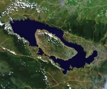 map of toba
