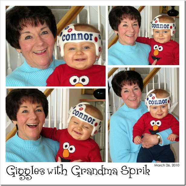 Giggles with Grandma Sprik  03.26.10