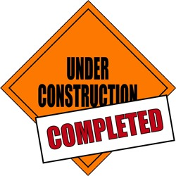 Under Construction COMPLETED Graphic
