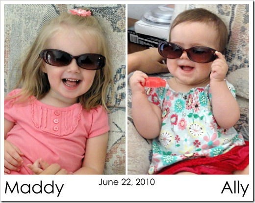 Maddy & Ally - Sunglasses  06.22.10