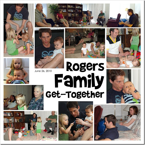 Rogers Family Get-Together  06.26.10