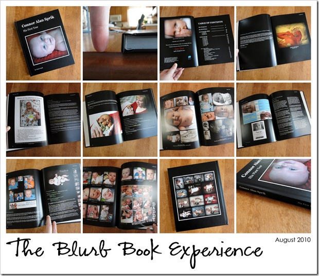 Blurb Book Experience - August 2010