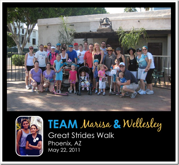 Team Marisa & Wellesley - May 22, 2011